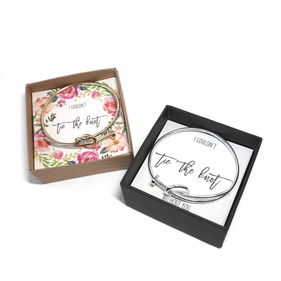 Tie the Knot Bracelet Deluxe - Bridesmaid Proposal Box Set