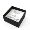 Precious Infinity Love Necklace & Bracelet - Wedding Gift Box Set
