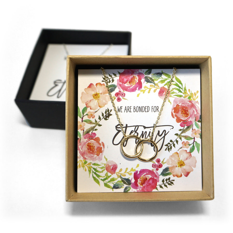 Eternity Bond Necklace - Wedding Gift Box Set
