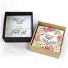 Flower Girl Necklace & Bracelet - Wedding Gift Box Set