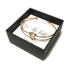 Double Tie the Knot Bracelet - Bridesmaid Proposal Box Set