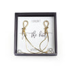 Tie the Knot Dangle Earrings