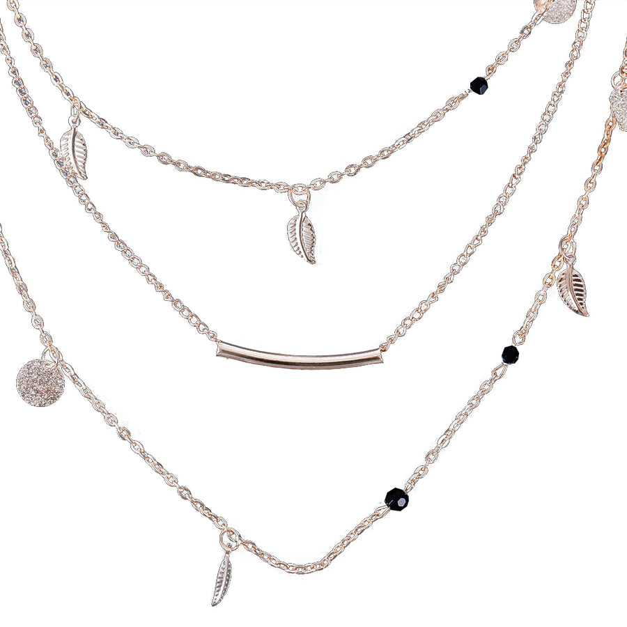 Multi Layer Chain Necklaces