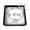 Tie the Knot Bracelet - Bridesmaid Proposal Box Set (Canada Shipping)