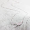 Angel Wings Ring Necklace