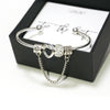 Tie the Knot Charm Bracelet - Bridesmaid Proposal Box Set