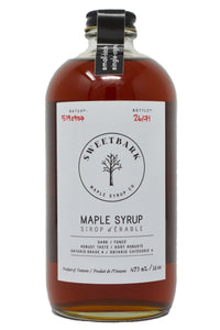 Sweetbark Maple Syrup - Dark 16oz - Sweetbark Maple Syrup Co.