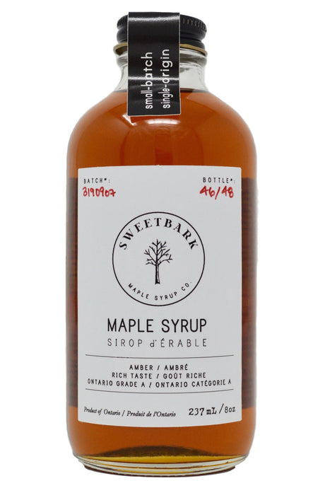 Sweetbark Maple Syrup - Amber 8oz - Sweetbark Maple Syrup Co.
