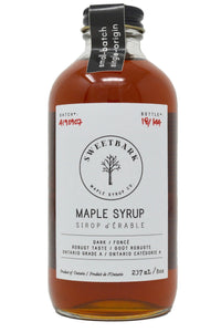 Sweetbark Maple Syrup - Dark 8oz - Sweetbark Maple Syrup Co.