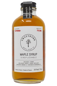 Sweetbark Maple Syrup - Golden 8oz - Sweetbark Maple Syrup Co.