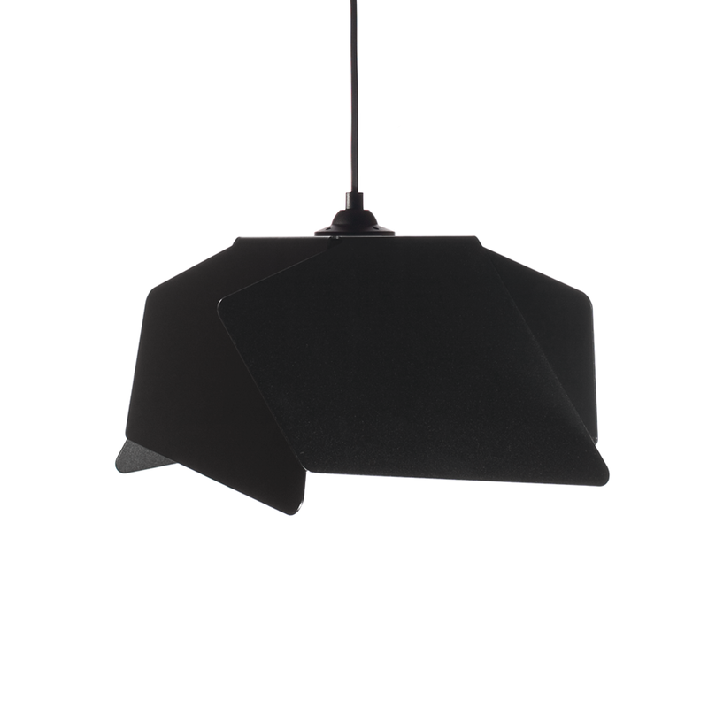 Hanglamp Nimble Design Twisted Zwart