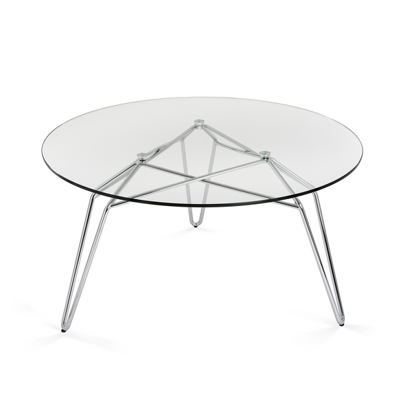 Salontafel Diamond - Chroom