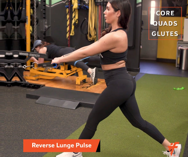 Reverse Lunge Pulse