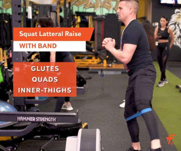 Squat Lateral Raise