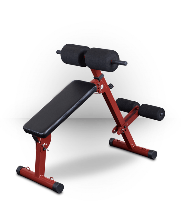 Best Fitness Ab Board Hyperextension Red