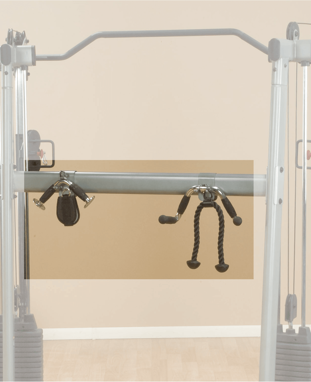 Body-Solid Functional Training Center 200 Accessory Rack 2