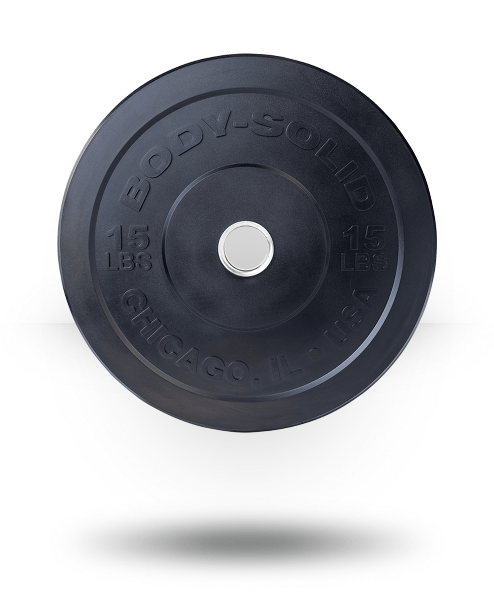 Body-Solid Chicago Extreme Bumper Plate 15 lb