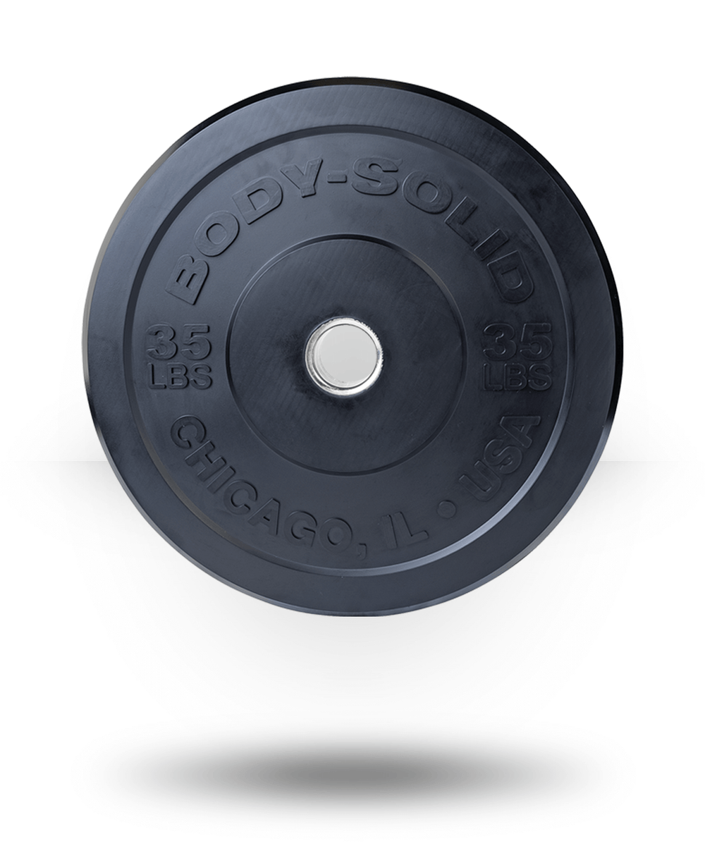 Body-Solid Chicago Extreme Bumper Plate 35 lb