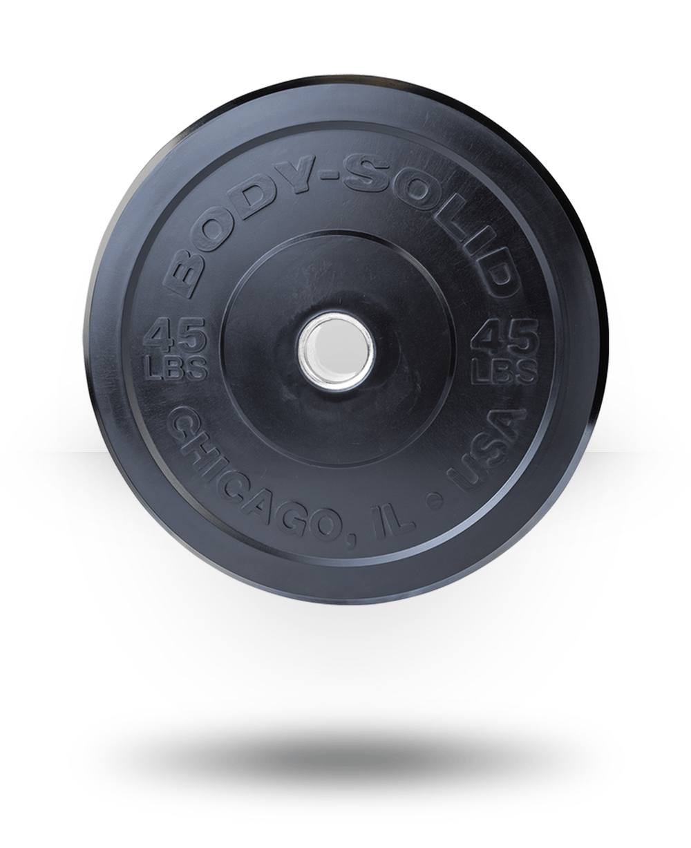 Body-Solid Chicago Extreme Bumper Plate 45 lb
