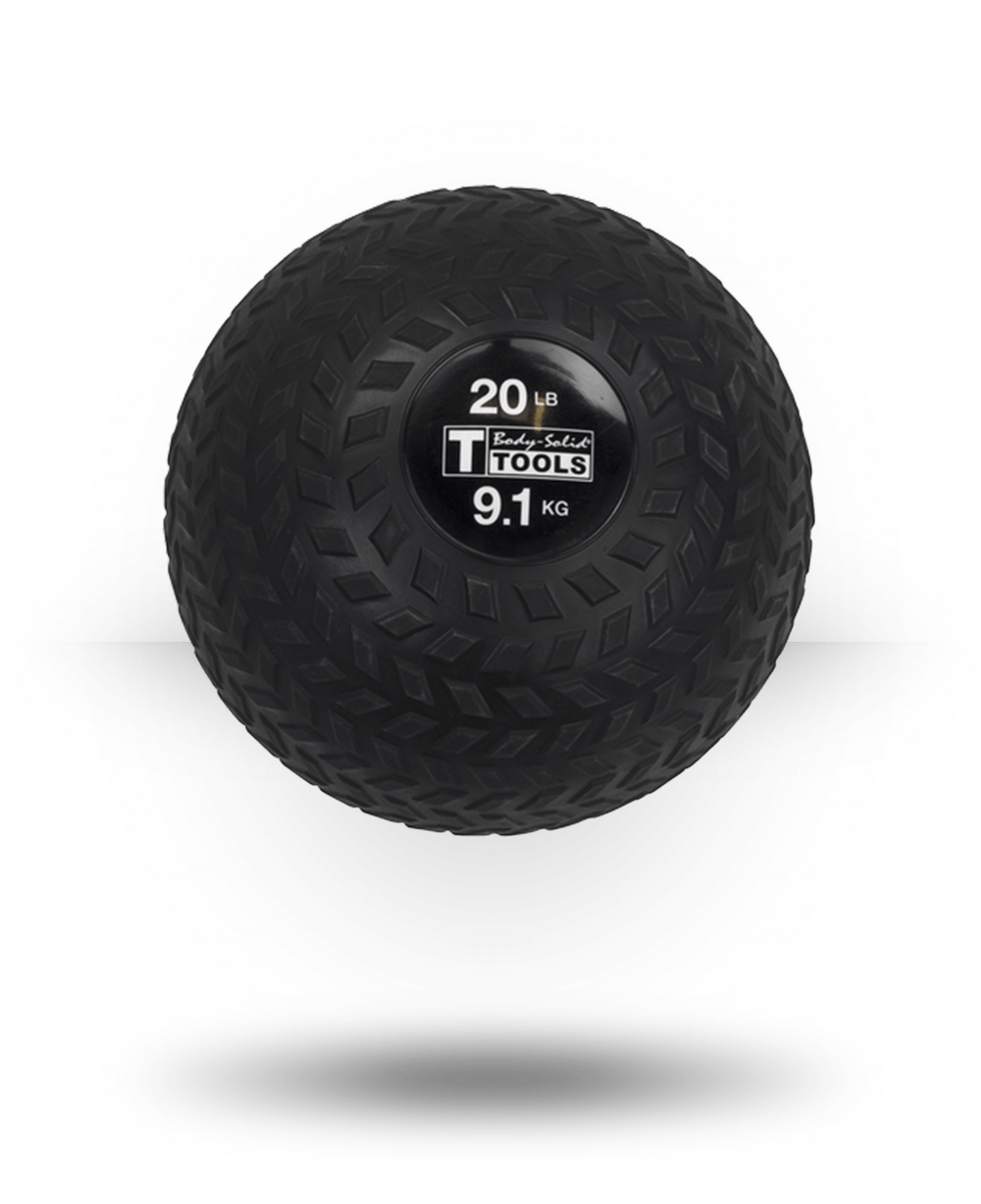 Body-Solid Tire Tread Slam Ball 20 lb