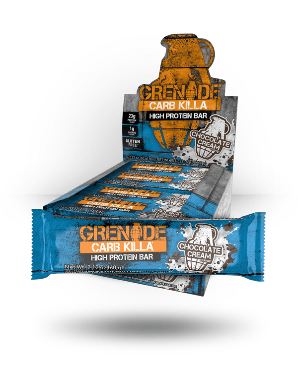 Grenade Carb Killa Bar Chocolate Cream, 12 Bars