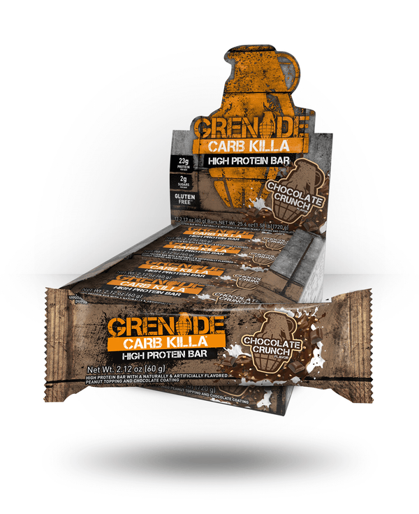 Grenade Carb Killa Bar Chocolate Crunch, 12 Bars