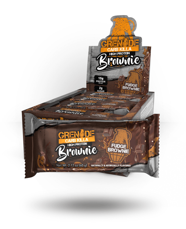 Grenade Carb Killa Brownie Fudge Brownie, 12 Bars