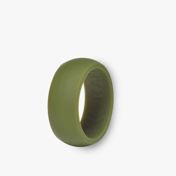 Karma Rings Mens Solo - Sage Green - Size 8