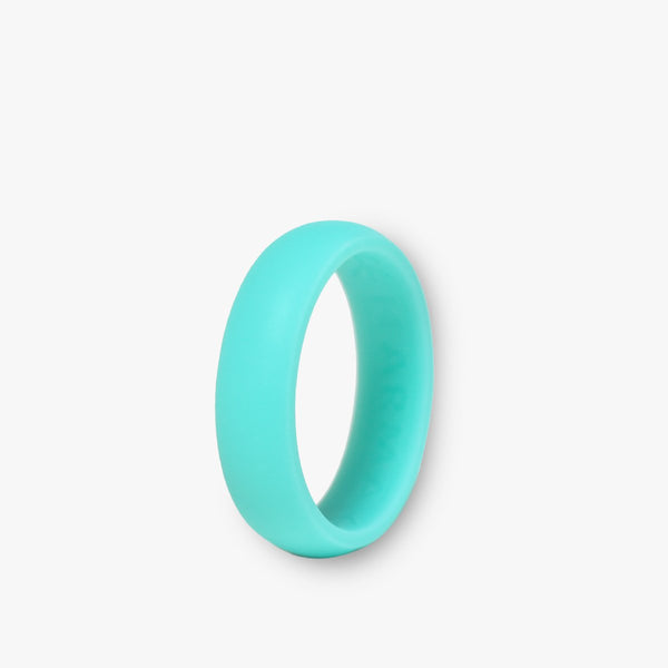 Karma Rings Womens Solo - Arctic Blue - Size 8