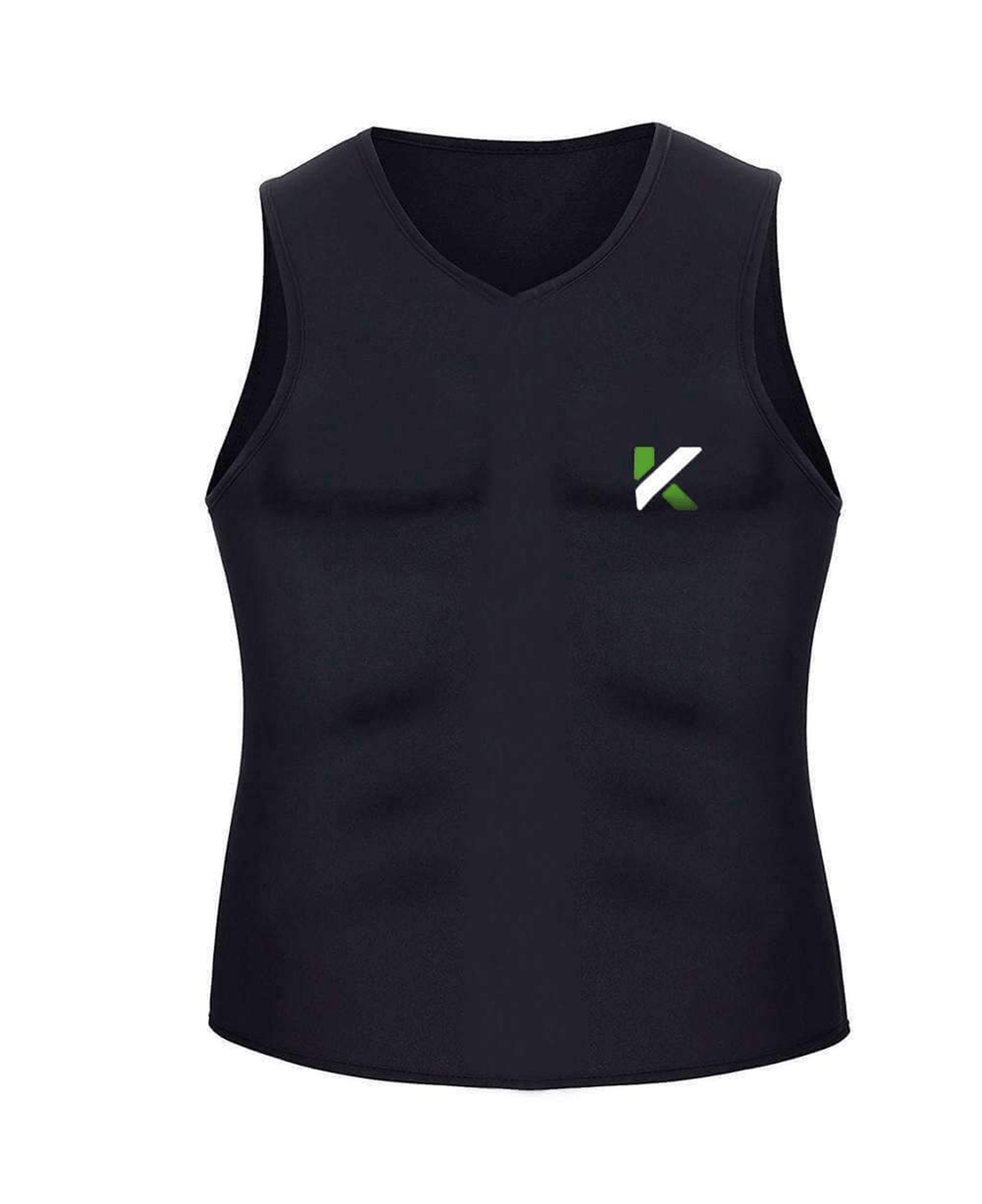 Kewlioo Sauna Vest Black, Medium Alt1