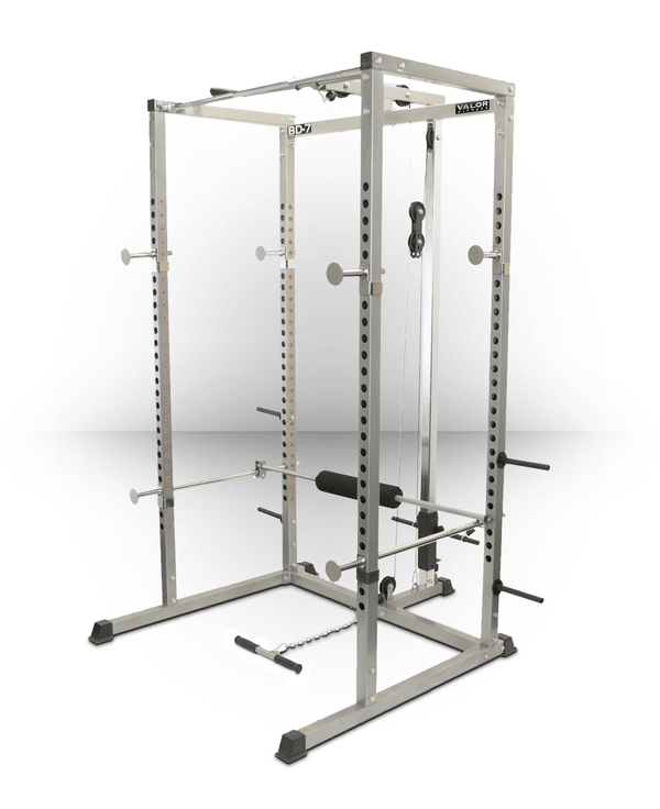 Valor Fitness Power Rack with Lat Pull BD-7