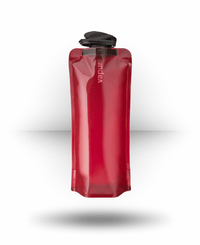 Vapur Wide Mouth Anti-Bottle Solid, Burgundy, 1.0 l