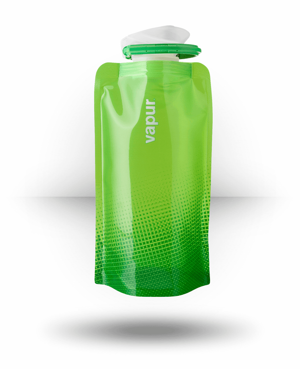 Vapur Wide Mouth Anti-Bottle Shades, True Green, 0.5 l