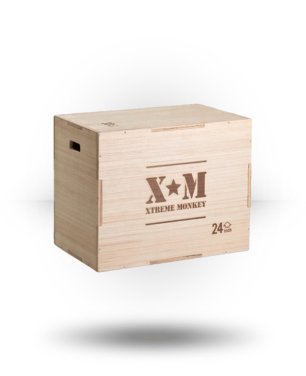Xtreme Monkey Flat Pack Wood Plyo Box