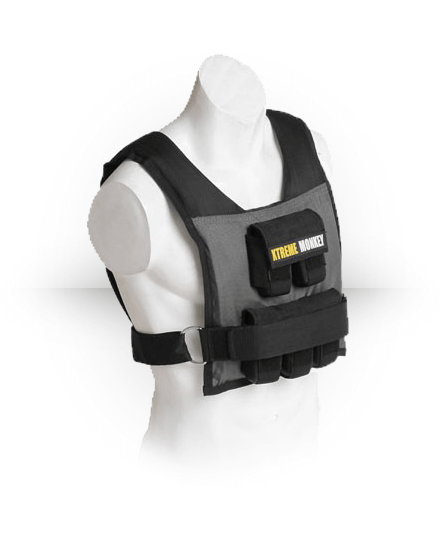 Xtreme Monkey Commercial Micro Adjustable Weighted Vest 25 lb