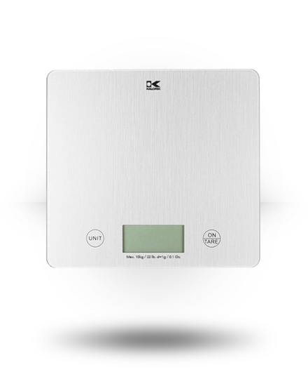 Kalorik XL Silver Kitchen Scale