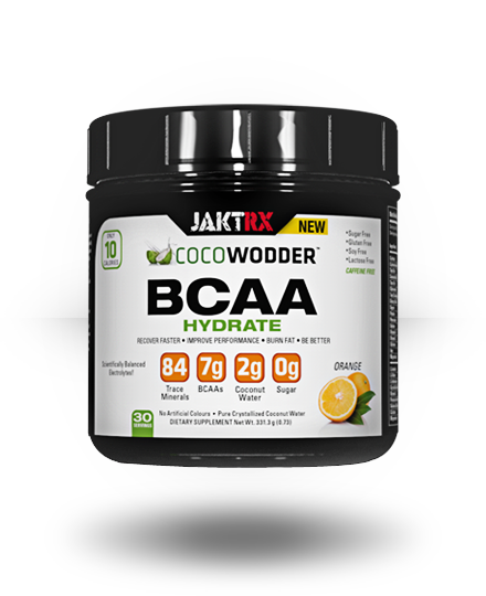 JAKT RX CocoWodder BCAA Hydrate Orange