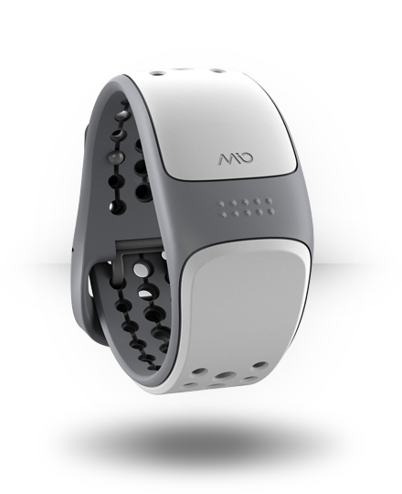 Mio Mio Link Heart Rate Wrist Band White, Small-Medium
