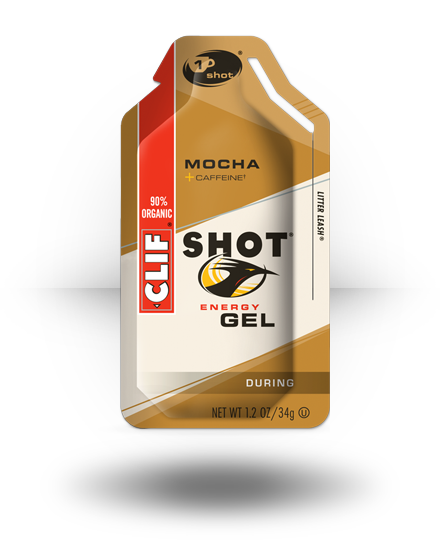 Clif Shot Energy Gel Mocha 24 ea