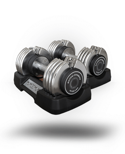Bayou Fitness Adjustable Dumbbells BF-0250 50 lb (Pair)