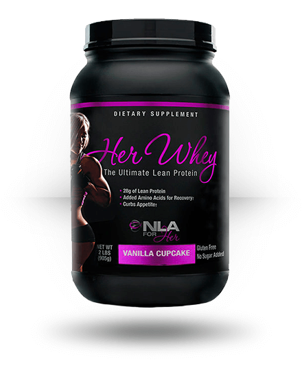 NLA For Her Her Whey Vanilla Cupcake 2 lb