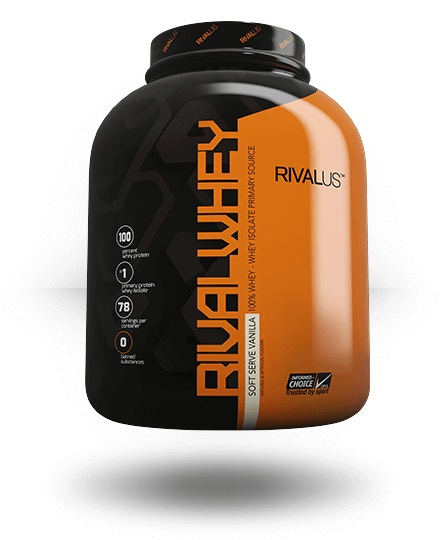 Rivalus Rivalwhey Soft-Serve Vanilla 5 lb