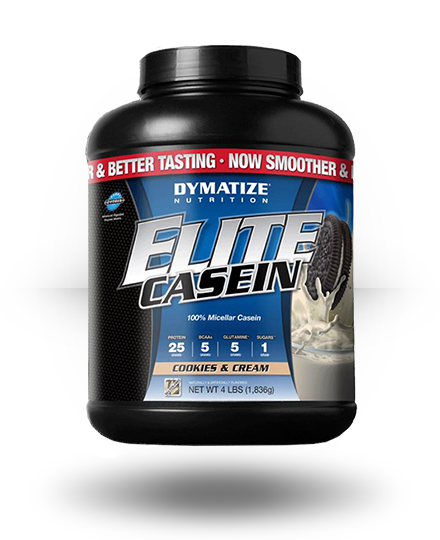 Dymatize Elite Casein Cookies & Cream 4 lb