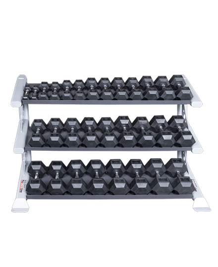 ProClubline 3 Tier Dumbbell Rack