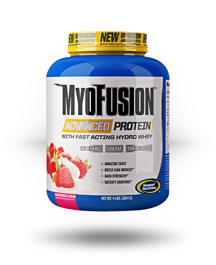 Gaspari Nutrition MyoFusion Advanced Protein Strawberries & Cream 4