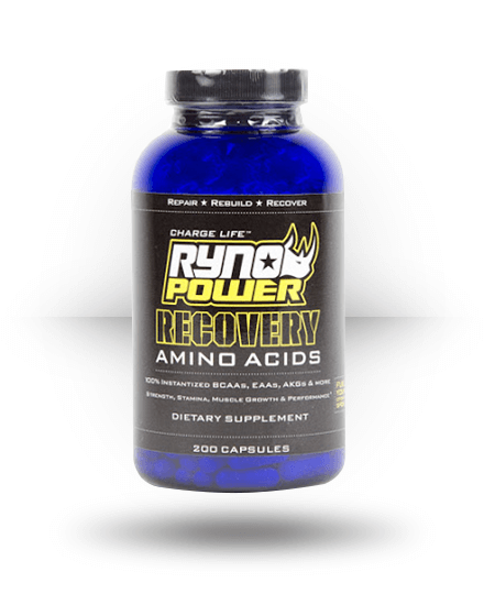 Ryno Power Recovery 200 Capsules