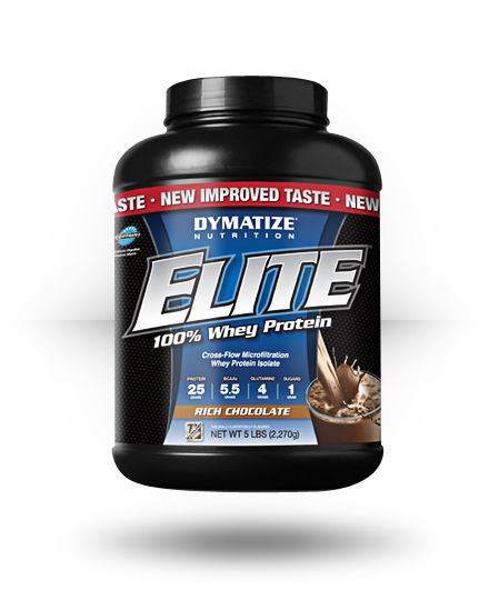 Dymatize Elite Whey Rich Chocolate 5 lb