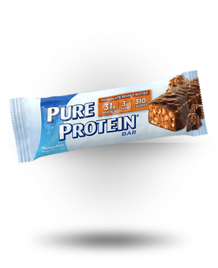 Worldwide Sport Nutritional Supplements Pure Protein High Protein Bar Chocolate Peanut But