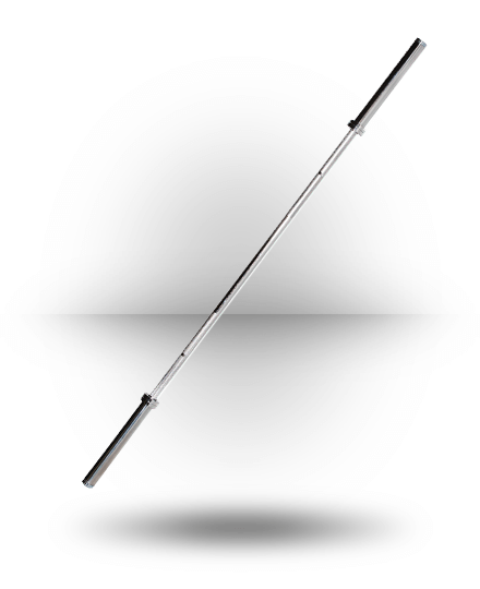 York Barbell North American Bar 30 mm Chrome 7 ft