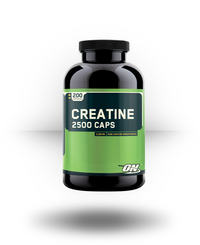 Optimum Nutrition Creatine 2500 Caps 200 ea